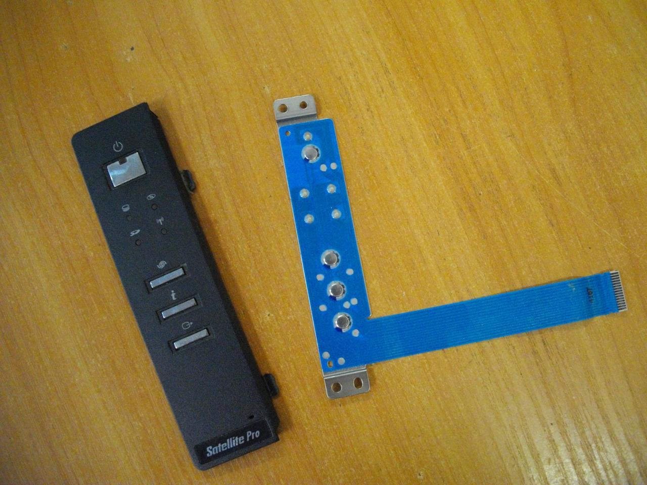Панелька с кнопкой включения Toshiba SPM30 PSM35E M30 M35 PSM35E-000MN-RU бу