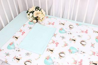 Постельное белье в детскую кроватку воздушные шары