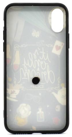 """Чехол накладка для Apple iPhone X (5.8 """") TPU Чаепитие, фото 2"""