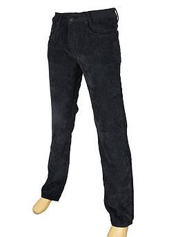 Вельветовые джинсы черные  размер 29,30