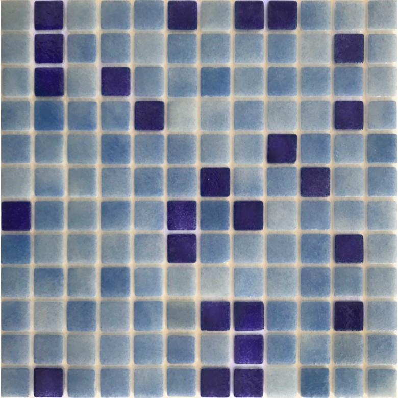 Мозаика стеклянная Glass mosaic микс HVZ-117