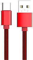 Кабель LDNIO LS60 Type C cable 1m Red, фото 1