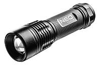 Фонарь Neo Tools алюминиевый, 200 люменов, 3xAAA, IPX7, LED SMD