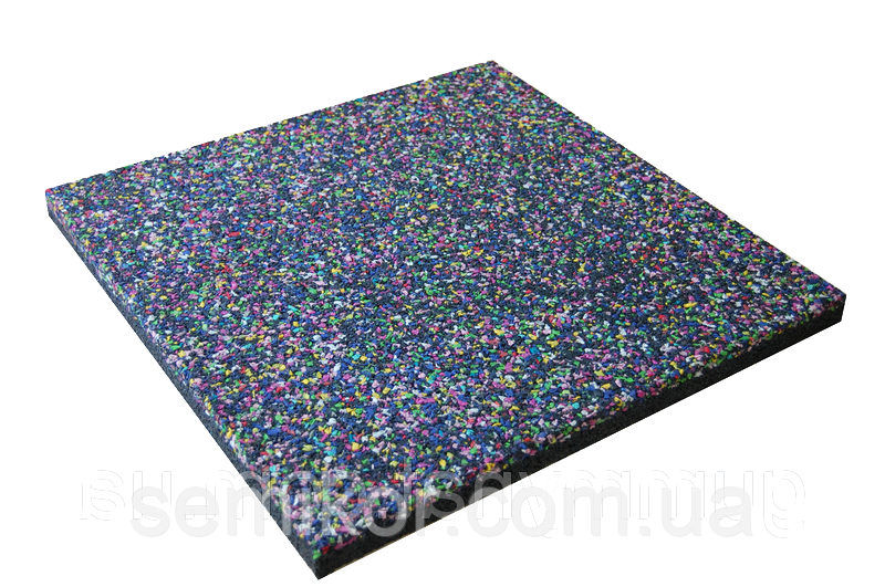 Резиновая плитка Zefir 500х500х20 (30) мм