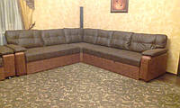 Угловой диван для гостиной на заказ от производителя., фото 1