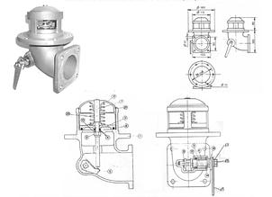 """Механический донный клапан TecnoMetal 3"""" с фильтром из нерж. стали"""