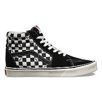 "Кеды Vans Checkerboard SK8-HI ""Black/White"" (Черные/Белые), фото 2"