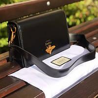 Женская сумочка Gucci (Гуччи) Garden, черный цвет