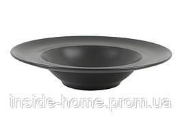 Тарелка для пасты 260 мм Porland Seasons Black