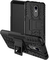 Чехол-накладка TOTO Dazzle kickstand 2 in 1 phone case Xiaomi Redmi 5 Black