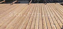 Палубная доска/прямой планкен, сибирская лиственница 20х120/140, сорт АВ, фото 3