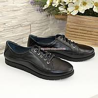Кожаные женские туфли на шнуровке от производителя, фото 1