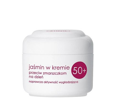 Ziaja Дневной крем для лица против морщин Жасмин 50+