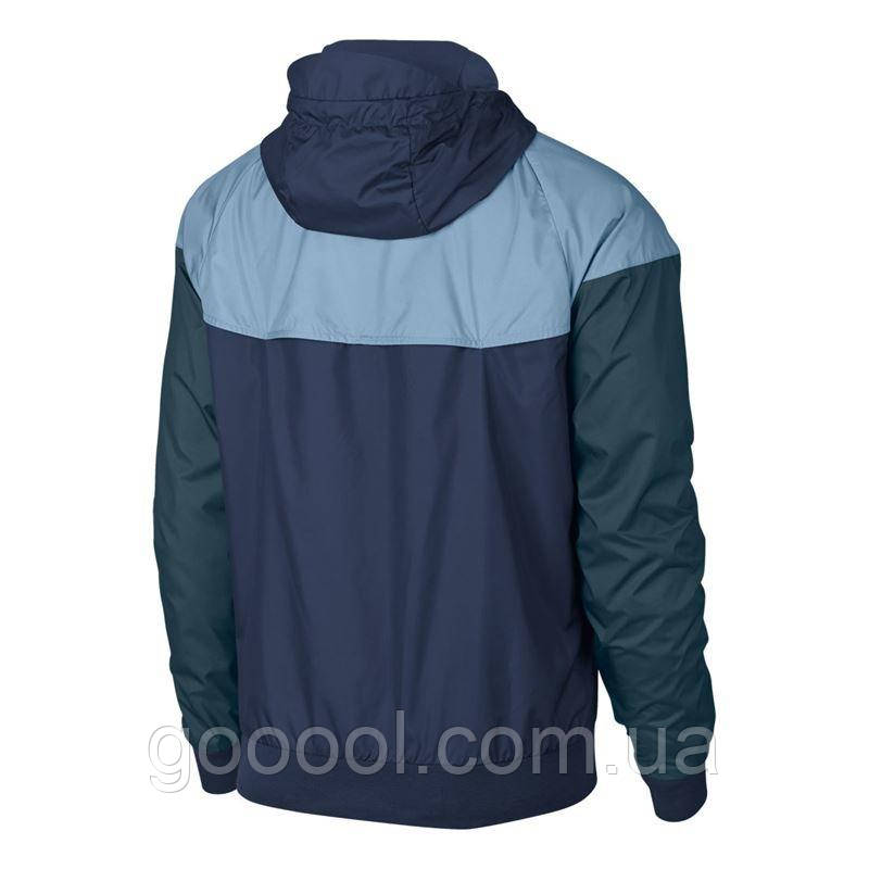 6659fea8 Куртка мужская Nike Sportswear Men's Windrunner Jacket Hoodie 727324-491,  фото 2