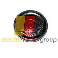 Динамик круглый металлический 40мм  4 Ом 2Вт