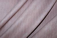 Ткань замш полоса пудра  №71, фото 1