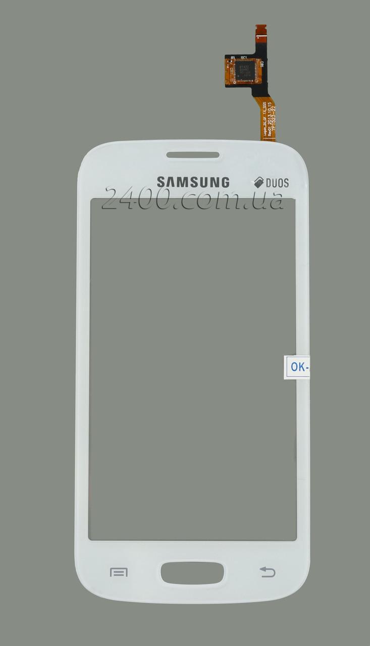 Тачскрин (сенсор) Samsung S7260/S7262 белый