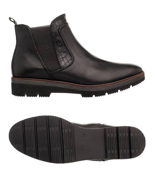 Жіночі черевики Marco Tozzi 41 Black, фото 2