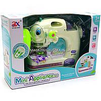 Детская швейная машинка игрушка (свет, защита рук) 6972B