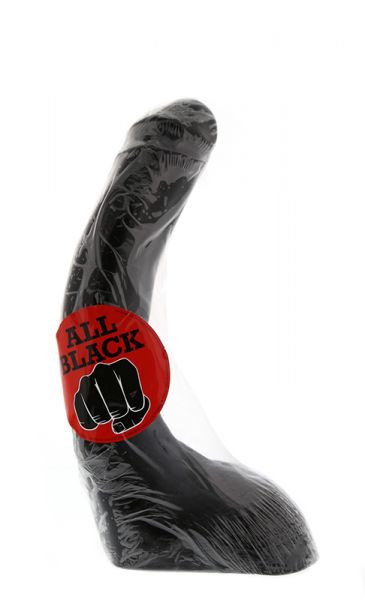 Анальный стимуляторX-Man - All Black: 32 cm (T180045)