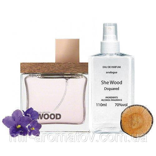 №60 Женские духи на разлив  Dsquared2 She Wood 2 She Wood    110мл+ПОДАРОК