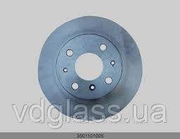 Тормозной диск передний GEELY CK(с АБС)