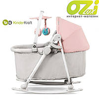 Кресло-качалка 5в1 UNIMO марки KinderКraft (розовое)