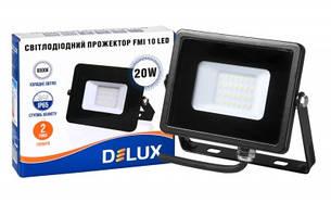 Светодиодный прожектор LED DELUX FMI10 20 Вт, фото 2