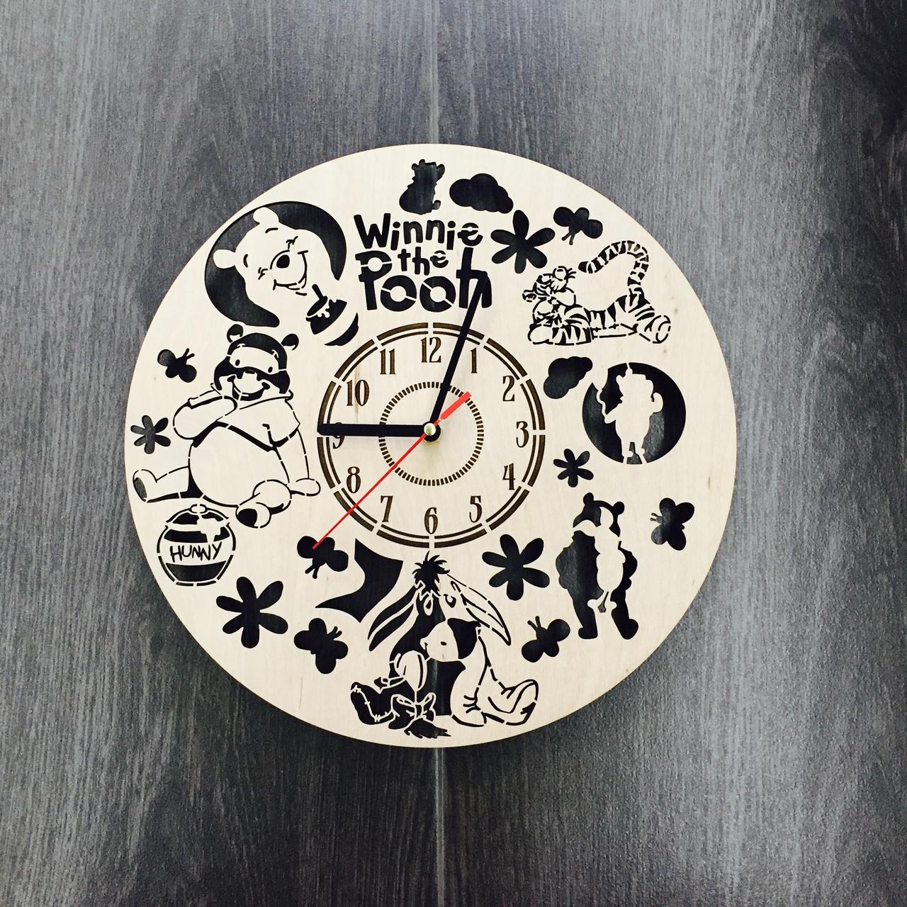 """Годинник настінний """"Вінні Пух і Його Компанія"""" CL-0077"""