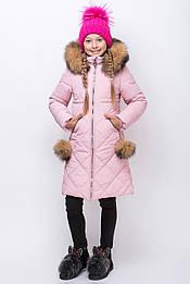 Зимняя курточка для девочки р.140