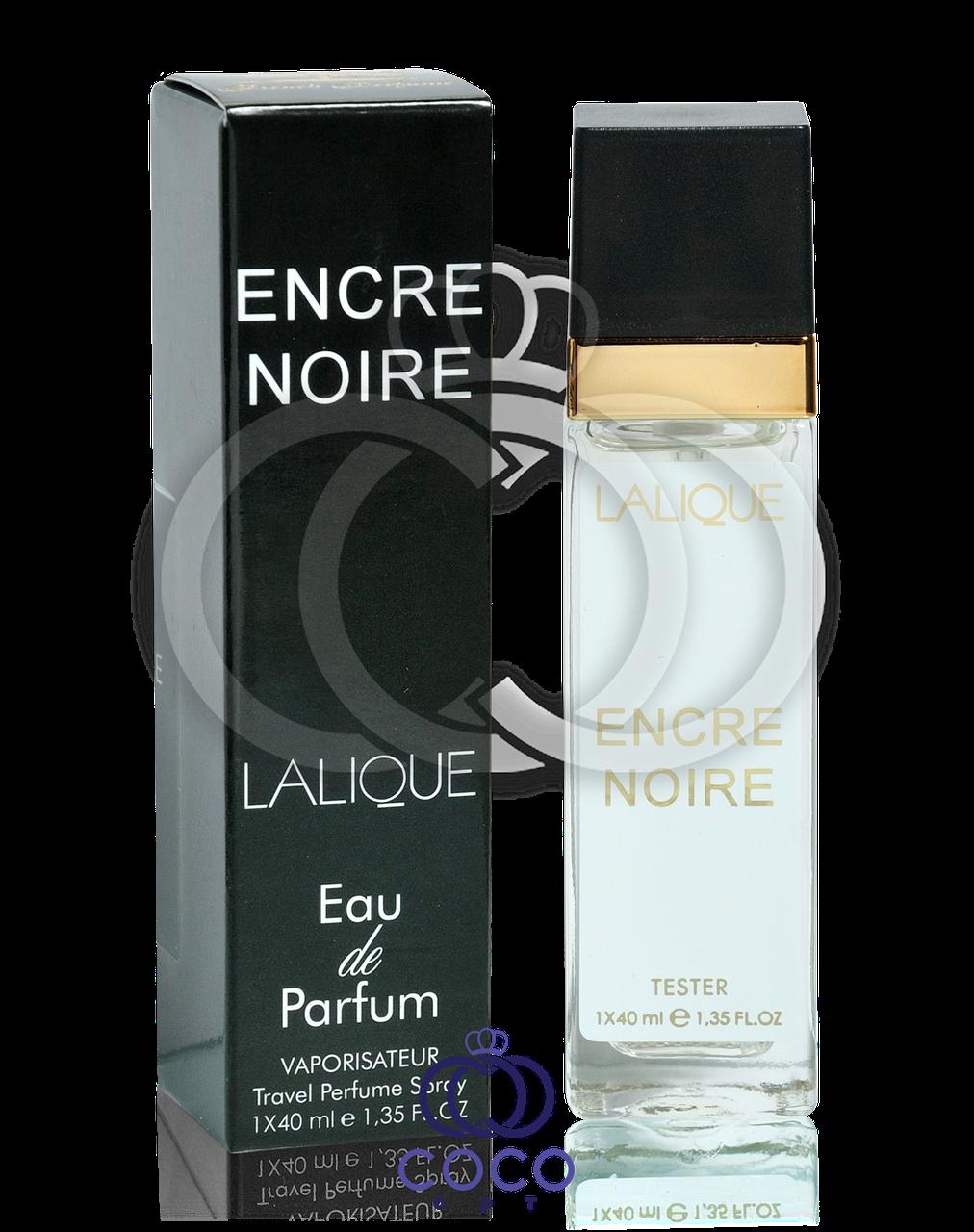 Мужской мини парфюм Lalique Encre Noire (тестер) 40 мл
