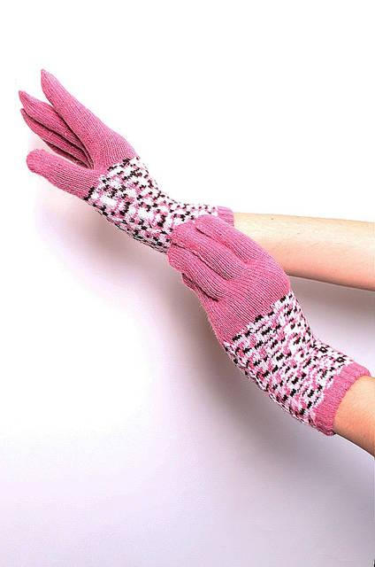 Перчатки подросток девочка WY-6072 Wool Gloves