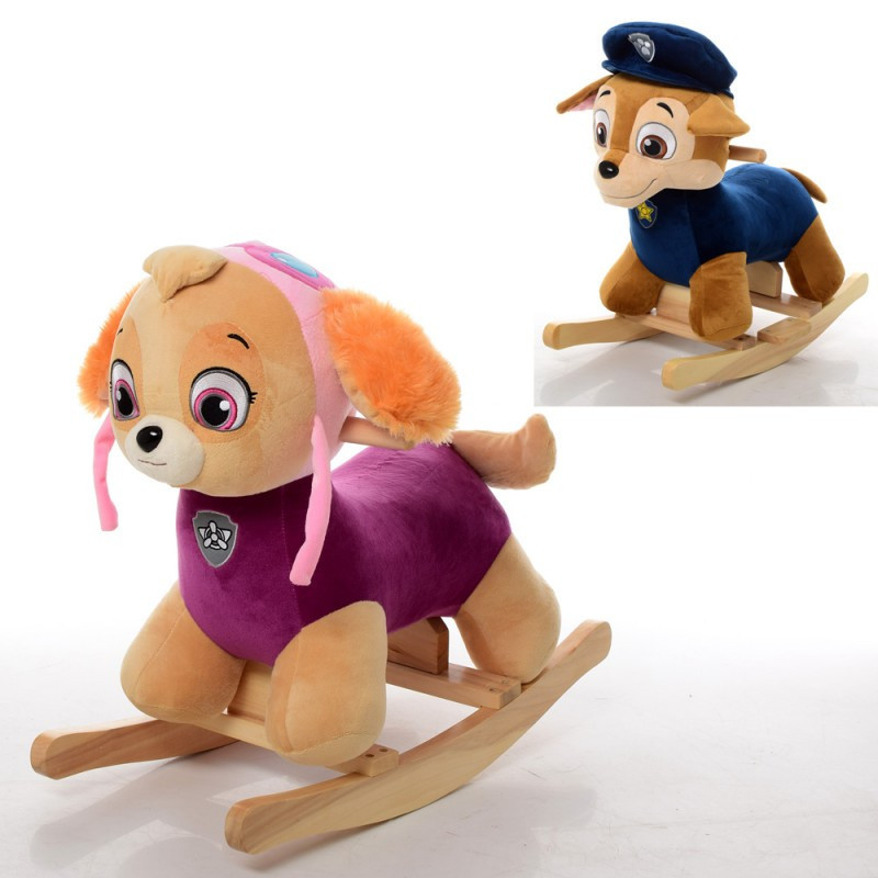 Детская качалка-собачка герои из мультфильма Щенячий патруль MP 0084