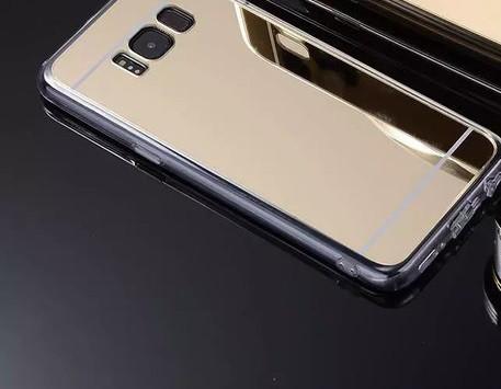 Зеркальный силиконовый чехол для Samsung Galaxy S8 Plus