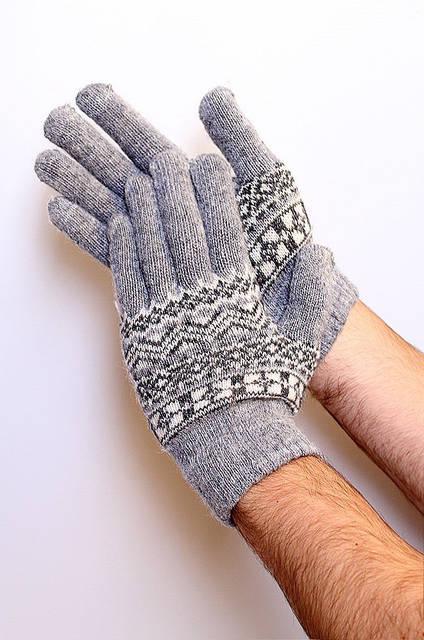 Перчатки мужские D30 Wool Gloves