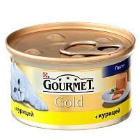 Консервы для кошек Gourmet Gold ( Гурмэ голд) паштет с курицей 85 г.