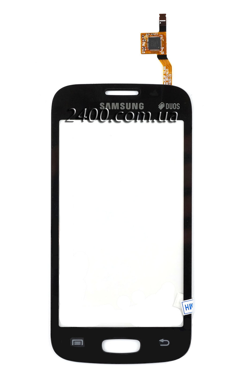 Тачскрин (сенсор) Samsung S7260/S7262 черный