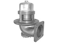 """Пневматический донный клапан 4"""" с компенсацией давления и фильтром из нерж. стали, фото 1"""