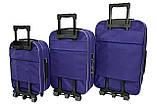Чемодан Siker Lux (средний) т.фиолетовый, фото 4