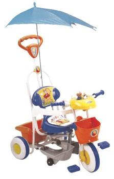 SR61S Geoby детский трехколесный велосипед