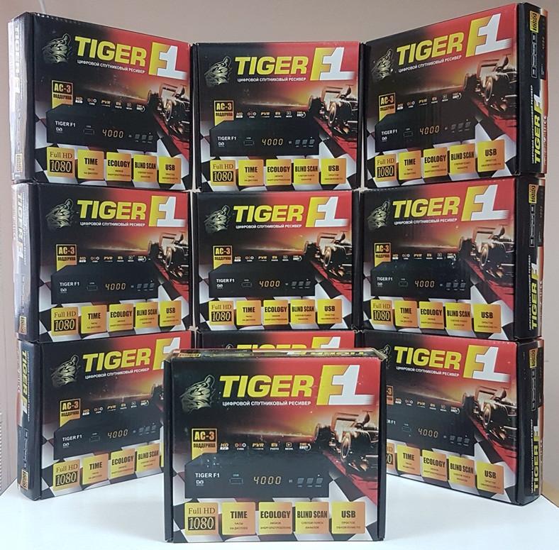 Спутниковый DVB-S Full HD Mpeg4 тюнер ресивер Tiger F1