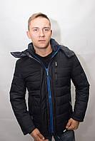 Зимний мужской пуховик куртка короткий спортивный молодёжный