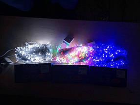 Новогодняя светодиодная гирлянда 300LED 18м белый, фото 3