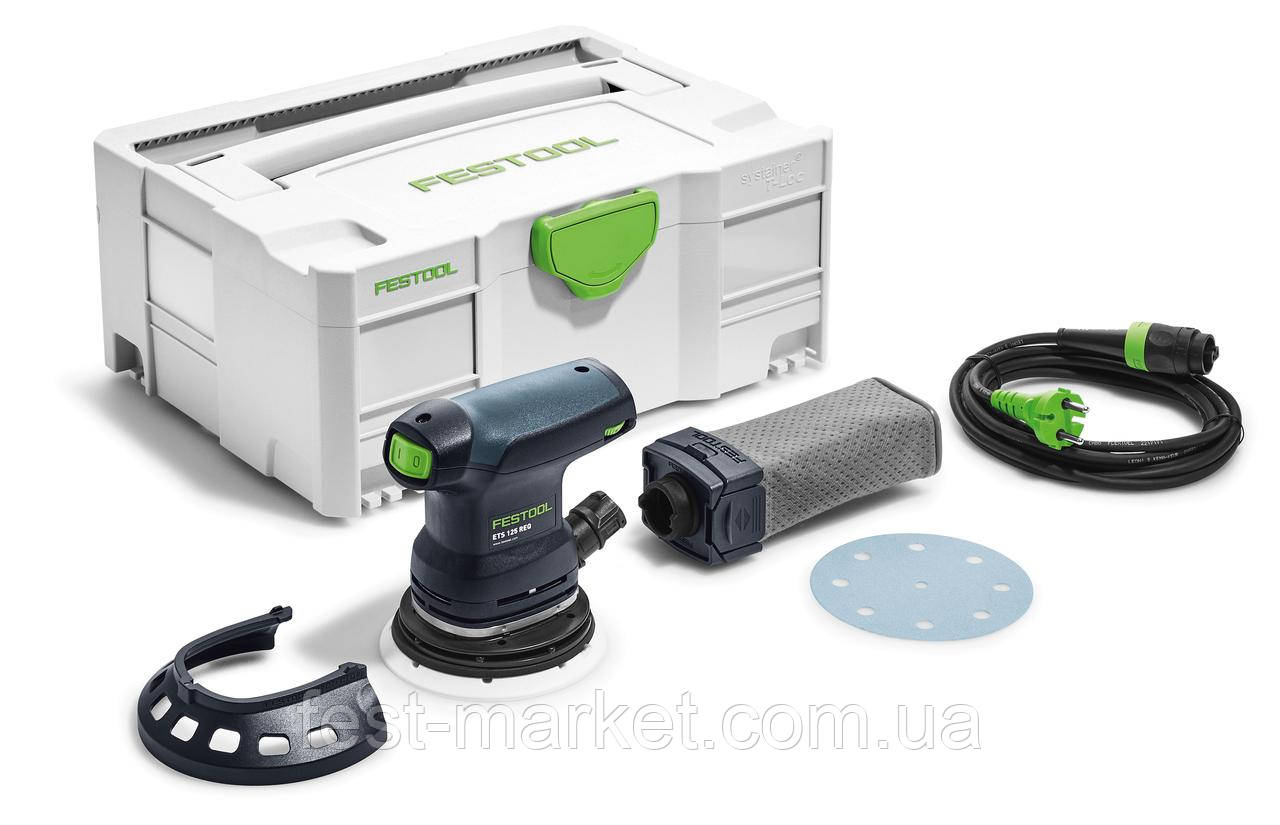 Эксцентриковая шлифовальная машинка ETS 125 REQ-Plus Festool 574636