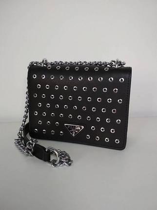Модная женская сумка на цепочке 15*20*7 см, фото 2