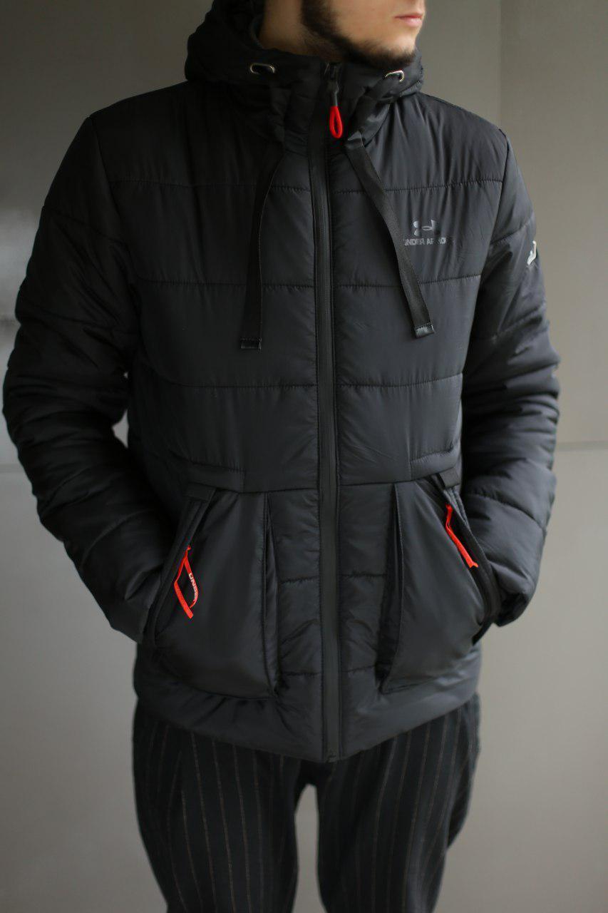 Мужская куртка евро зима Under Armour копия