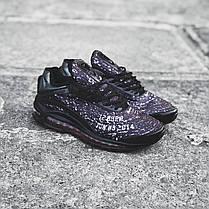 "Кроссовки Nike Air Max Deluxe Skepta ""Dark Violet"" (Темно-фиолетовые), фото 2"