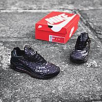 "Кроссовки Nike Air Max Deluxe Skepta ""Dark Violet"" (Темно-фиолетовые), фото 3"