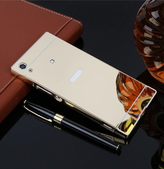Алюминиевый чехол бампер для Sony Xperia XA1  (G3112) (G3123) (G3125) (G3116) (G3121)