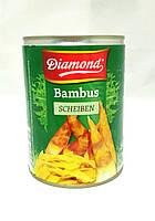 Бамбук побеги (нарезка полоски) Diamond 565 г, фото 1